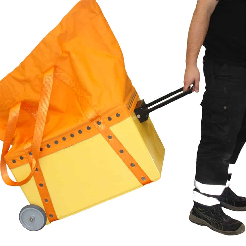 EMG Trolley Solid Casted Large Lifting Bag (wll=500kg)   Textiel (Cordura look-a-like)
