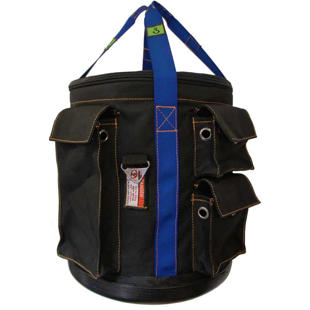EMG Round Lifting Bag Bucket For Rope Access (wll=25kg)   Textiel (Cordura look-a-like)