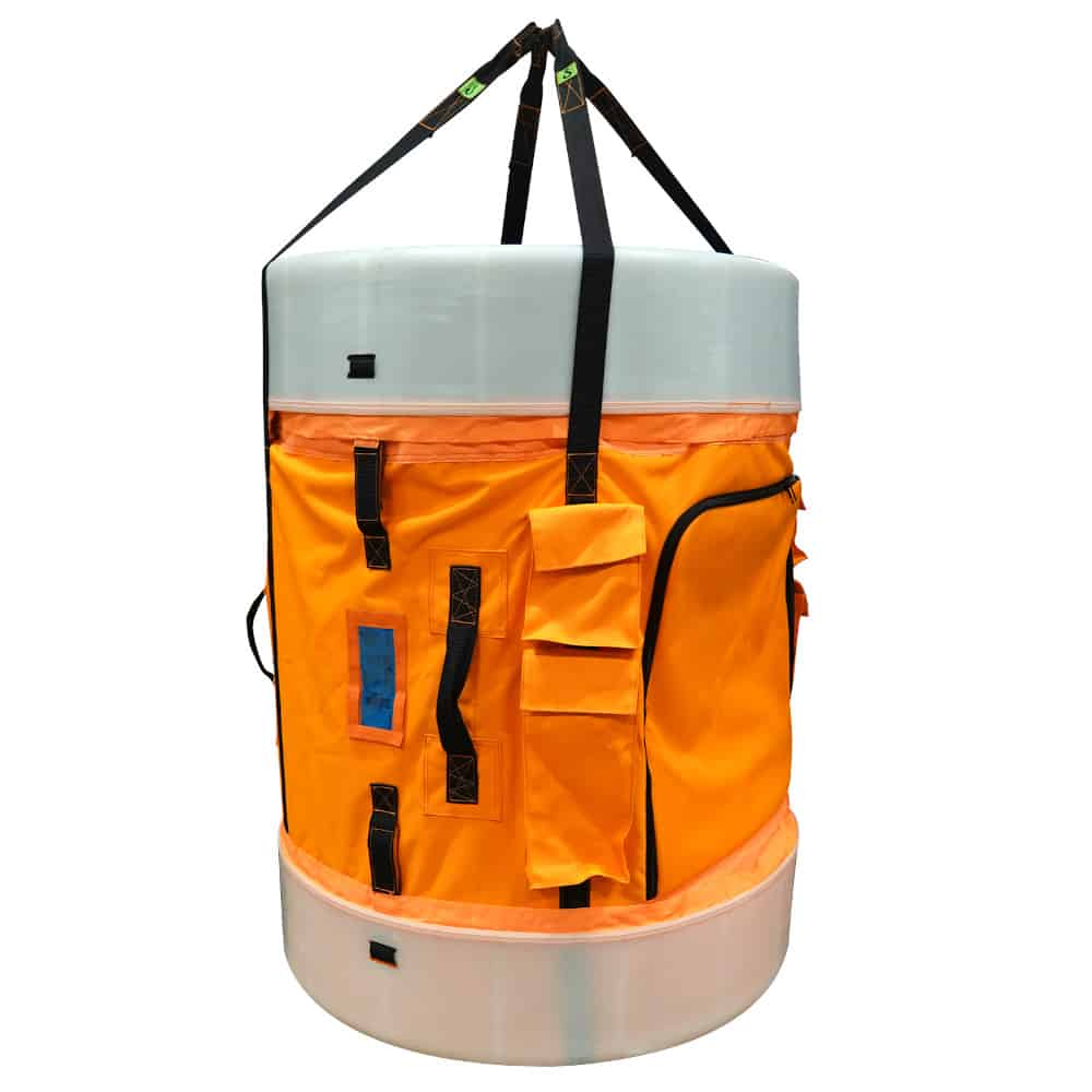 EMG Cylinder-shaped Tool Station Lifting Bag (wll=200kg)   Waterafstotend zeildoek