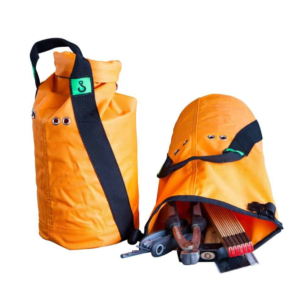 EMG Round Mini Tool Lifting Bag (wll=25kg)  oranje Textiel (Cordura look-a-like)