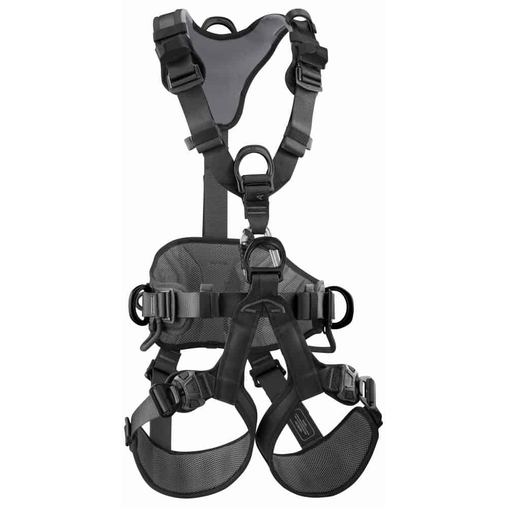 Petzl Avao Bod Fast International, Black Maat 0 (Extra small / Small)   - Positioneergordels